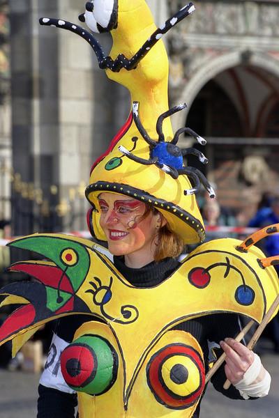 Bremer Karneval 2000 - Pinselsturm & Bilderflut