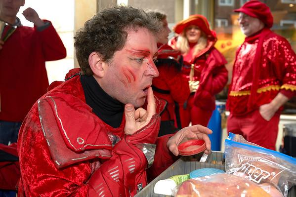 Bremer Karneval 2009 - Rot