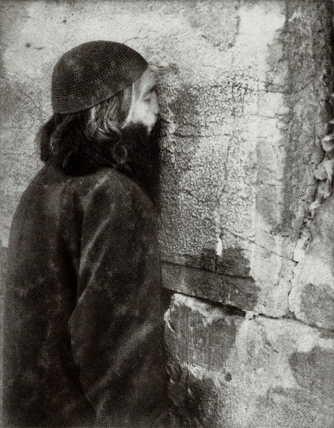 Praying At The Wall, Bromoil