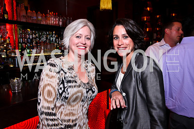 Tricia Messerschmitt, Susan Toffler. Photo by Tony Powell. Buddha Bar 1-Year Anniversary. May 12, 2011