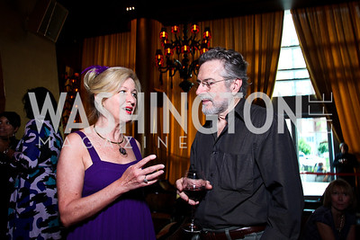 Donna Christenson, Dominic Cardella. Photo by Tony Powell. Buddha Bar 1-Year Anniversary. May 12, 2011