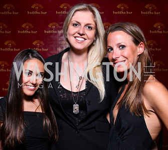 Alexandra Ludmer, Anna Don, Kira Bates. Photo by Tony Powell. Buddha Bar 1-Year Anniversary. May 12, 2011