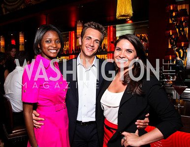 Jummy Olabanji, Philip Stewart, Laura Chavez. Photo by Tony Powell. Buddha Bar 1-Year Anniversary. May 12, 2011