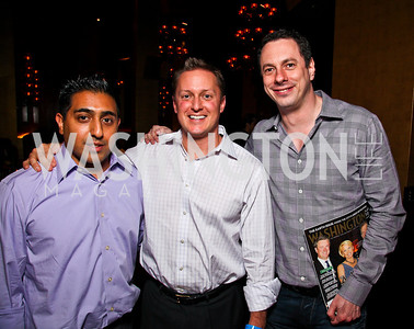 Chitta Mallik, Dan Keating, Matt Schwartz. Photo by Tony Powell. Buddha Bar 1-Year Anniversary. May 12, 2011