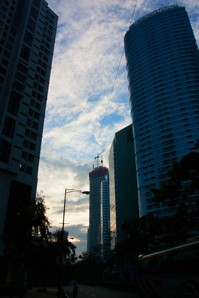 Office buildings in Makati, Philippines