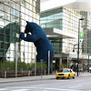 Famous 40-foot blue bear in front of the Colorado Convention Center