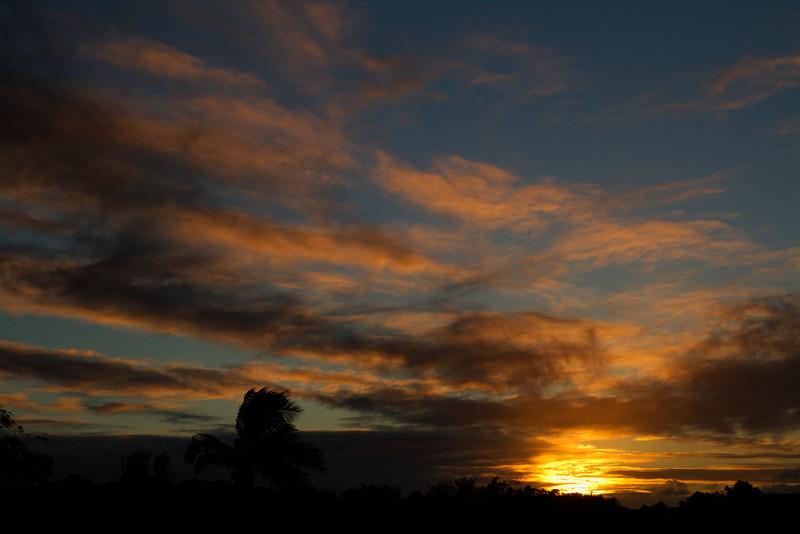 Sunrise over Bundaberg