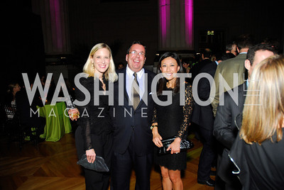 Marne Levine,Phil Deutch,Eun  Yang,Butterfly Bash,October 14,2011,Kyle Samperton