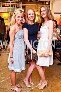 Alicia Dunn, Ericka Lugvigsen, Allison Davis. Photo by Tony Powell. CB2 Opening. April 29, 2011