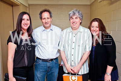 Beth Marans, Jeff Aronoff, Larry Hoffman, Michelle LaRue. Photo by Tony Powell. CB2 Opening. April 29, 2011