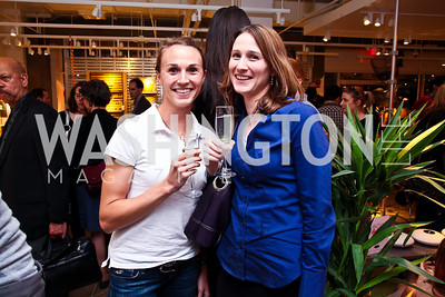 Mindy and Wendy Sullivan. Photo by Tony Powell. CB2 Opening. April 29, 2011