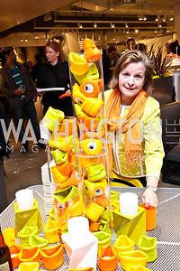 Cathy Clark. Photo by Tony Powell. CB2 Opening. April 29, 2011
