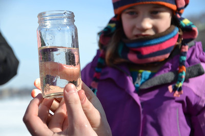 Taking a look at the life under the ice with Center for Limnology staff