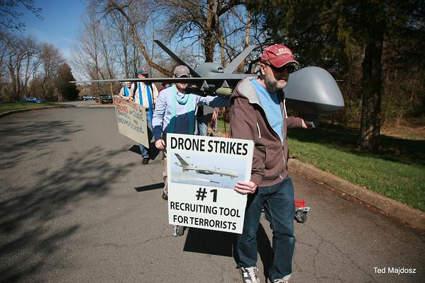 Drone Protest CIA 4/12/14