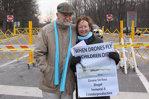 CIA Drone Protest Dec. 14, 2013