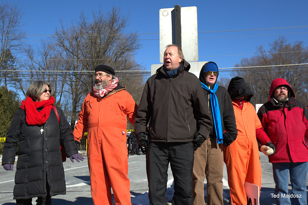 CIA Drone/Torture  Protest January 10, 2015