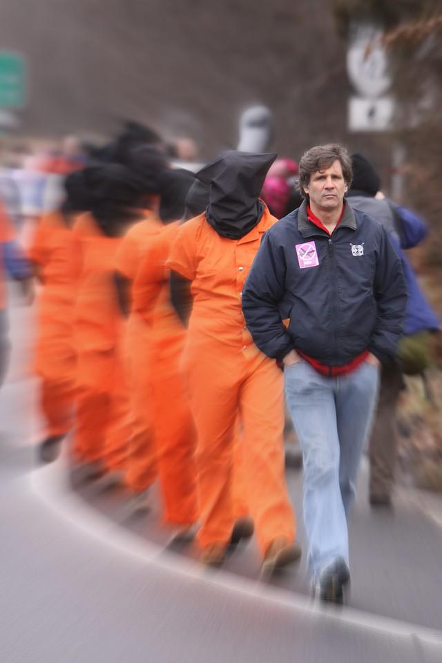 """Carmen Trotta founding member of """"Witness Against Torture"""""""