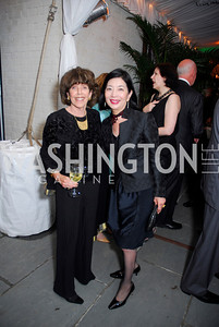 Didi Cutler, Yoriko Fujisaki, Cafritz End of Summer Party, September 9, 2011, Kyle Samperton