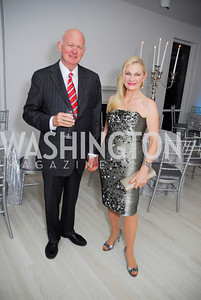 Michael Pillsbury, Susan Pillsbury, Cafritz End of Summer Party, September 9, 2011, Kyle Samperton