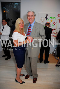 Trish Vrandenberg, George Vrandenberg,Cafritz End of Summer Party, September 9, 2011, Kyle Samperton