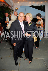 Mel Estrin, Maggie Shannon, Cafritz End of Summer Party, September 9, 2011, Kyle Samperton