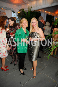 Evelyn diBona, Susan Pillsbury, Cafritz End of Summer Party, September 9, 2011, Kyle Samperton