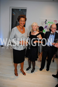 Shirley Hall, Willee Lewis, Cafritz End of Summer Party, September 9, 2011, Kyle Samperton