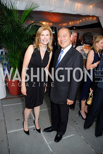 Jane Cafritz, Ichiro Fujisaki, Cafritz End of Summer Party, September 9, 2011, Kyle Samperton