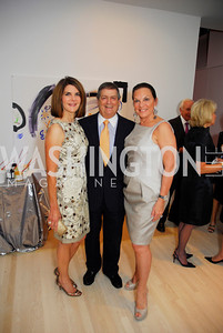 Jackie Dubenstein, Ken Duberstein, Grace Bender, Cafritz End of Summer Party, September 9, 2011, Kyle Samperton