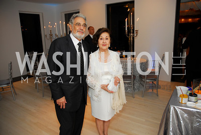 Placido Domingo, Marla Domingo, Cafritz End of Summer Party, September 9, 2011, Kyle Samperton