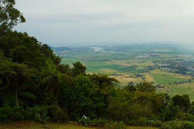 View from Cambewarra Mountain Lookout