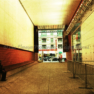 Mid block public space on 42 between 6 & Broadway