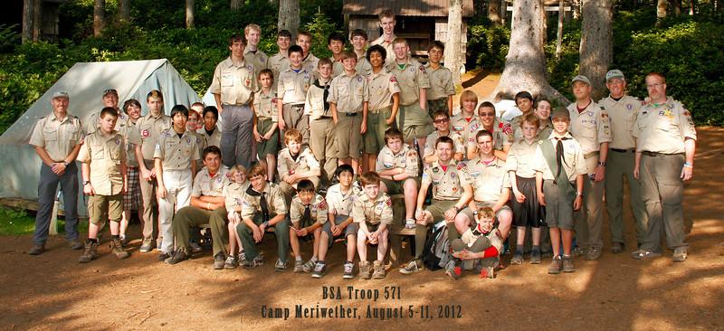 Camp Meriwether 2012