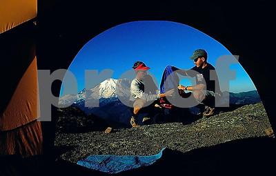 Brian & Brent tent