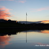 Lake Burley Griffin at sunrise, Canberra