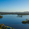 Aerial View of Lake Burley Griffin, Canberra