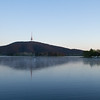 Morning light on Lake Burley Griffin, Canberra
