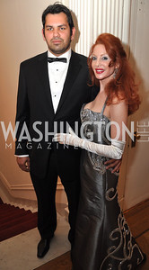 Jay Jawaid,  Suzette Manduley Capital City Ball, Washington Club, November 19, photos by Ben Droz