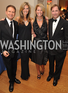 Juan Narvaz , Dawn Tayman, Kelly Noonan, Tim Dorman Capital City Ball, Washington Club, November 19, photos by Ben Droz