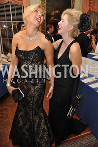 Edrienne Szabo, Alexandra N. Senyi de Nagy-Unyom, host committee Capital City Ball, Washington Club, November 19, photos by Ben Droz