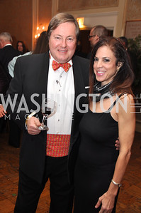 Walter Howes  and Elise Sandra Shore Capital City Ball, Washington Club, November 19, photos by Ben Droz