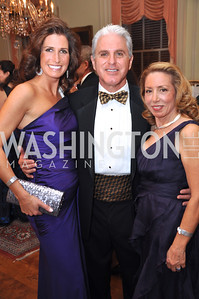 Gabriel Fronce , Purple Bunny Project, Dave Berkey, Michele Lebar, host committee Capital City Ball, Washington Club, November 19, photos by Ben Droz