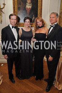 Michael Mort and Evy Mort, Morgan Ortagus, Jonathan Weinberger Capital City Ball, Washington Club, November 19, photos by Ben Droz