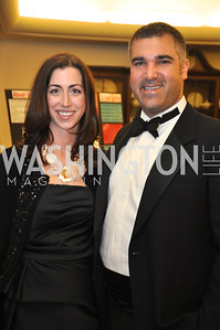 Tricia Carlisle and Brook Katzen Capital City Ball, Washington Club, November 19, photos by Ben Droz