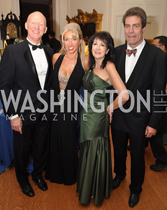 John Dunford, Tanya Lynn Sabel, Liz Sara, Bruce Fries Capital City Ball, Washington Club, November 19, photos by Ben Droz