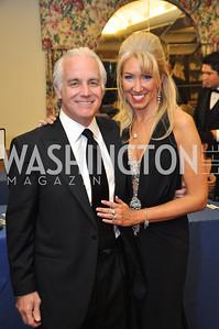 Bill Farrand, Tanya Lynn Sabel Capital City Ball, Washington Club, November 19, photos by Ben Droz