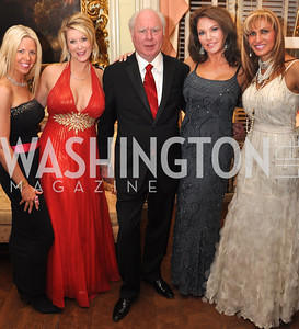 Joanna Banks, Kimberly Warfield, Cecil Pruitt Lisa Spoden, Gina Polakh Capital City Ball, Washington Club, November 19, photos by Ben Droz