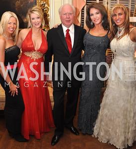 Joanna Banks, Kimberly Warfield, Cecil Pruitt Lisa Spoden, Gina Polakh Capital City Ball, Washington Club, November 19, photos by Ben Droz