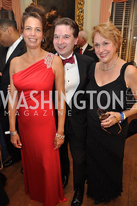 Bobbie Peterson, Chris Magnan, Carlene Archer Capital City Ball, Washington Club, November 19, photos by Ben Droz