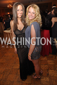 Jaime Cameron , Brittany Raimo Capital City Ball, Washington Club, November 19, photos by Ben Droz